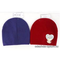 c1-329 Подростковая шапка на девочку, 8-18 лет, 1 шт