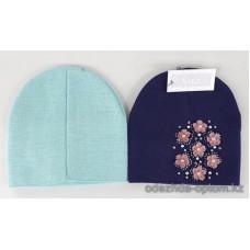 c1-331 Подростковая шапка на девочку, 8-18 лет, 1 шт