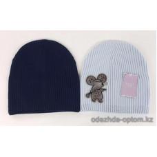 c1-343 Подростковая шапка на девочку, 8-18 лет, 1 шт