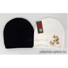 c1-344 Подростковая шапка на девочку, 8-18 лет, 1 шт
