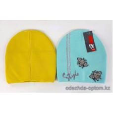 c1-349 Подростковая шапка на девочку, 8-18 лет, 1 шт