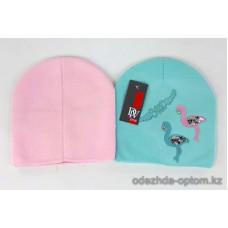 c1-353 Подростковая шапка на девочку, 8-18 лет, 1 шт
