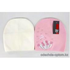 c1-356 Подростковая шапка на девочку, 8-18 лет, 1 шт