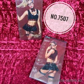 b5-7507 Spicy Эротический костюм студентки для ролевых игр, 7 в 1, стандарт,  1 шт