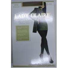 k1-8151B Lady Claire Теплые махровые бесшовные лосины, 800 ден, 1 пачка (6 шт)