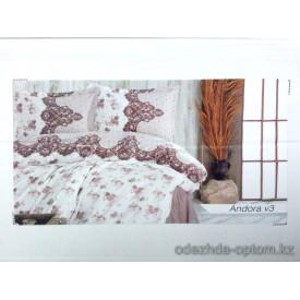 p4-026-SM Clasy Andora v3 Семейный комплект постельного  белья, х/б, 1 шт