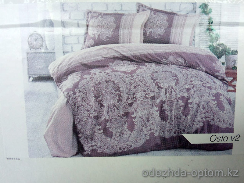 p4-029-DV Clasy Oslo v2 2-х спальный комплект постельного  белья, х/б, 1 шт