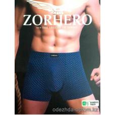 t2-Z9521 ZORHERO Мужские трусы боксеры, бамбук, 1 пачка (24 шт)