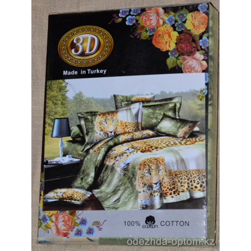 p1-0205 Семейный постельный комплект 3D