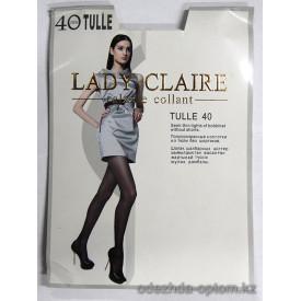 k1-6405 Полупрозрачные колготки из тюли Lady Claire, 40 ден, 1 пачка (12 шт)