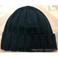 c1-0125 Мужская шапка, внутри флис, 1 пачка (5 шт)