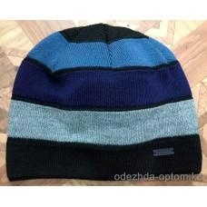 c1-0128 Мужская шапка, внутри флис, 1 пачка (5 шт)