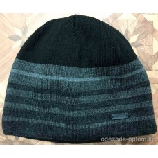 c1-0132 Мужская шапка, внутри флис, 1 пачка (5 шт)