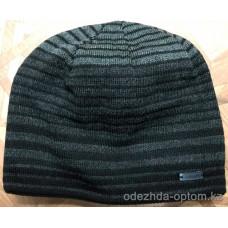 c1-0134 Мужская шапка, внутри флис, 1 пачка (5 шт)