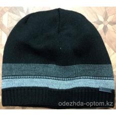 c1-0135 Мужская шапка, внутри флис, 1 пачка (5 шт)