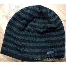 c1-0137 Мужская шапка, внутри флис, 1 пачка (5 шт)